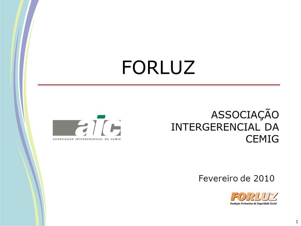 FORLUZ ASSOCIAÇÃO INTERGERENCIAL DA CEMIG Fevereiro de 2010 1