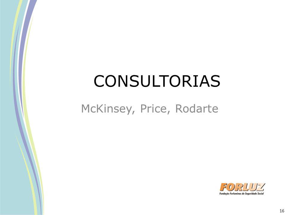 CONSULTORIAS McKinsey, Price, Rodarte 16