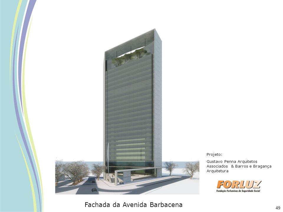 Projeto: Gustavo Penna Arquitetos Associados & Barros e Bragança Arquitetura Fachada da Avenida Barbacena 49