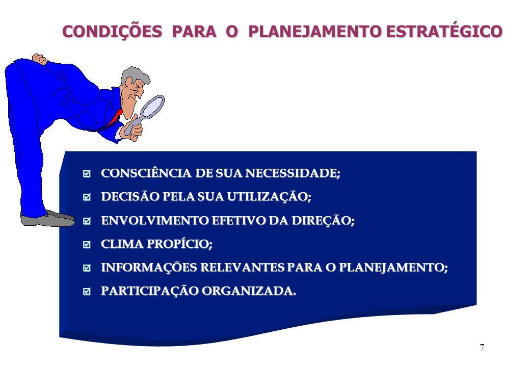 8 ENTENDENDO O PROCESSO DE MUDANÇA COM O PLANEJAMENTO TRABALHAR (FAZER) QUALIFICARQUALIFICAR Planejamento Desejado Planejamento de Gestão Planejamento Estratégico