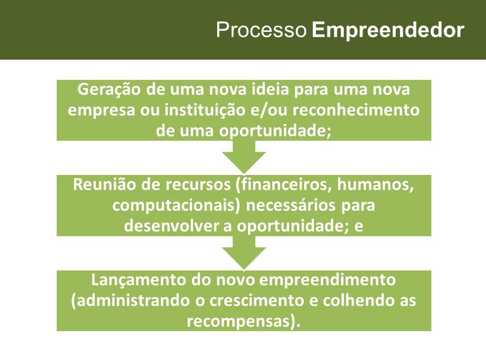 Processo Empreendedor
