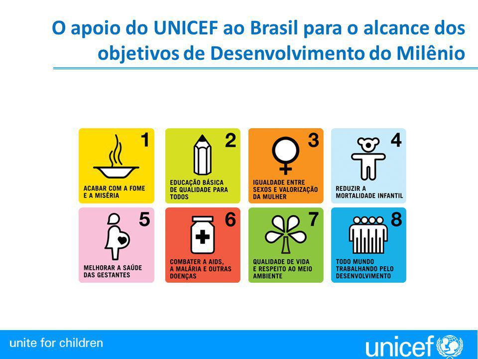 O apoio do UNICEF ao Brasil para o alcance dos objetivos de Desenvolvimento do Milênio XXXXXXXXXXXXXXXXXXXXXXXXXXXXXXXXXXXXXXXXXXXXXXXXXXXXXXXXXXX XXX