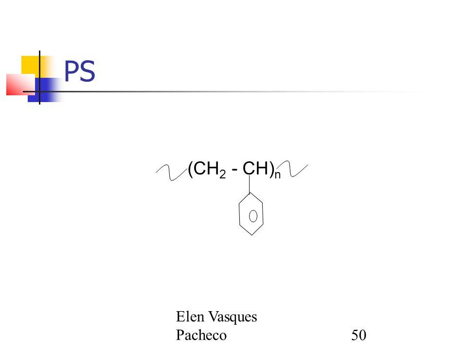 Elen Vasques Pacheco50 PS (CH 2 - CH) n