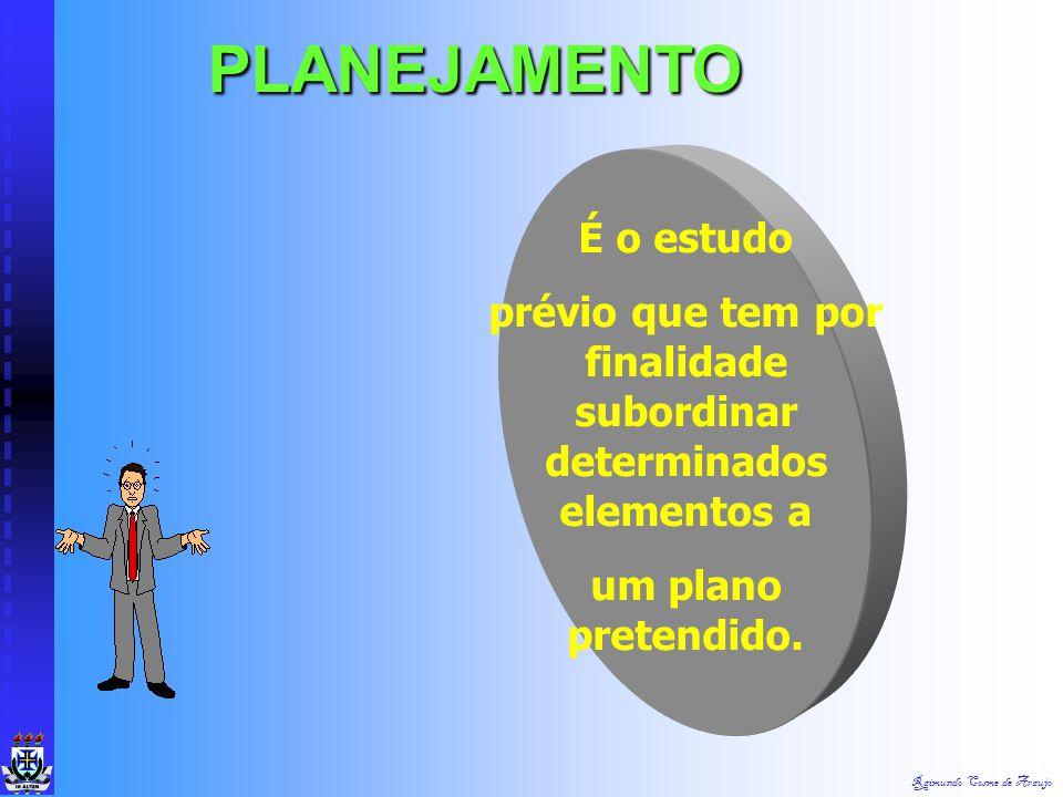 Raimundo Cosme de Araujo Caracterizam os meios de ações necessárias para iniciar um processo administrativo. A N Á L I S E
