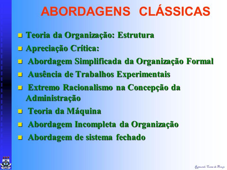 Raimundo Cosme de Araujo Princípios da Organização Linear Princípios da Organização Linear a) Unidade de Comando ou Supervisão Única a) Unidade de Com