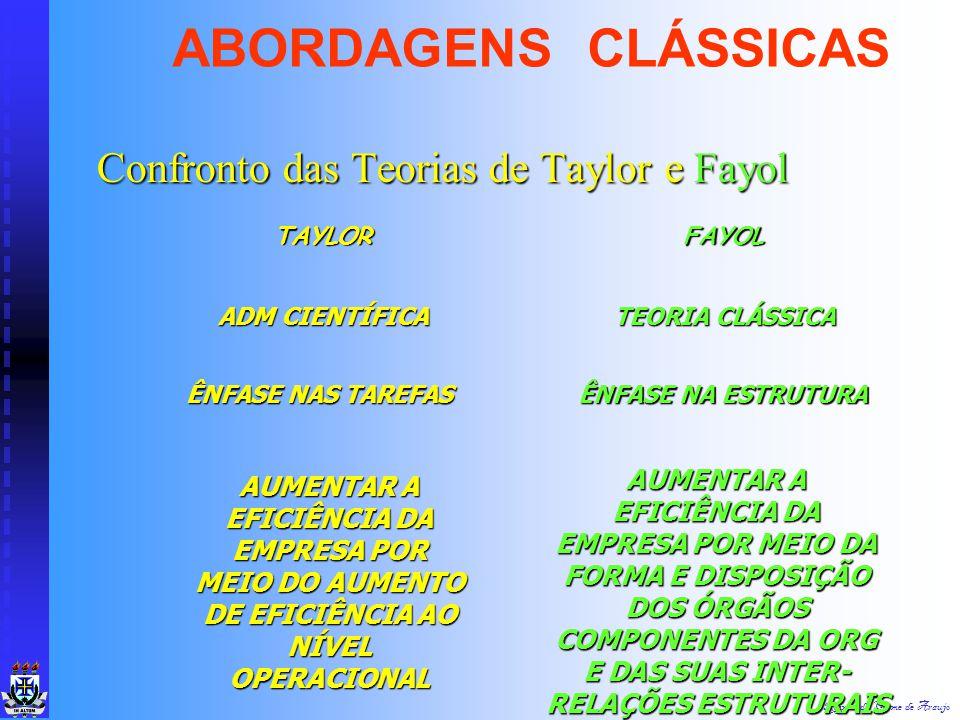 Raimundo Cosme de Araujo Teoria da Organização: Estrutura Teoria da Organização: Estrutura Apreciação Crítica: Apreciação Crítica: Abordagem Simplific