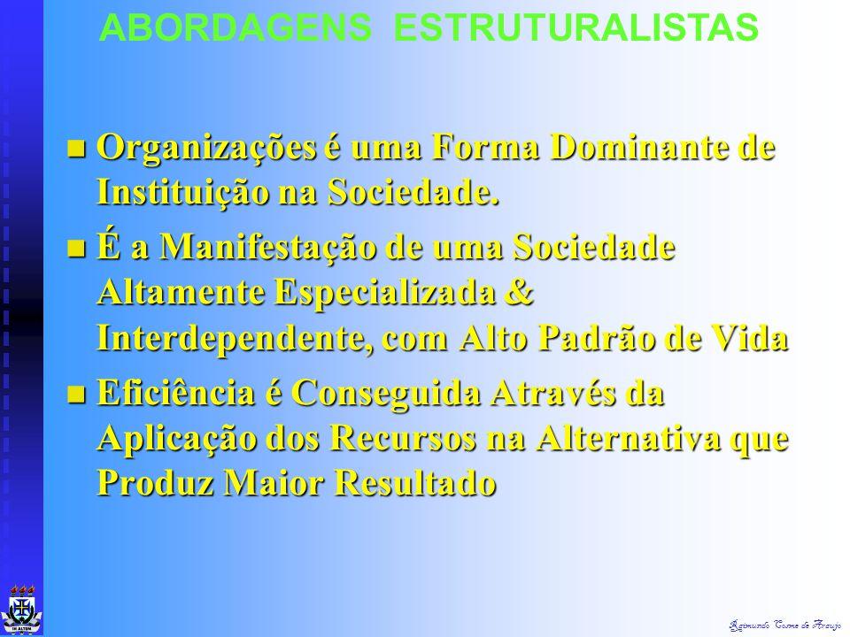 Raimundo Cosme de Araujo ABORDAGENS ESTRUTURALISTAS  2. Liberalismo Econômico & Social (Influência Estatal & Desenvolvimento do Capitalismo)  3. Soc