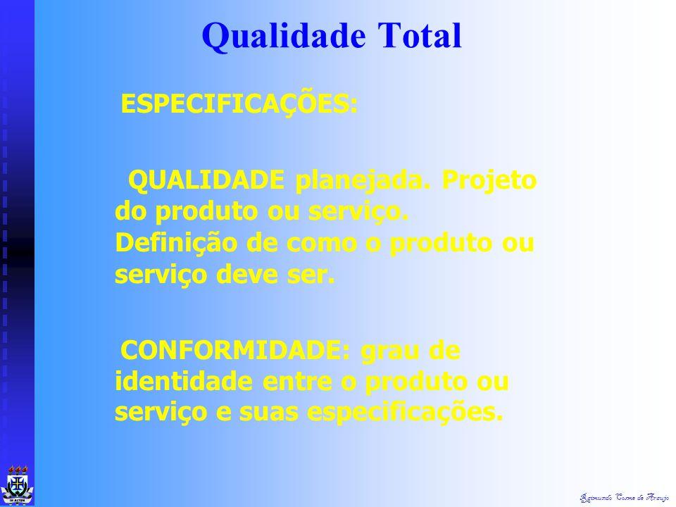 Raimundo Cosme de Araujo VALOR: QUALIDADE como luxo. Maior número de atributos. Utilização de materiais ou serviços raros, que custam mais caro. O VAL