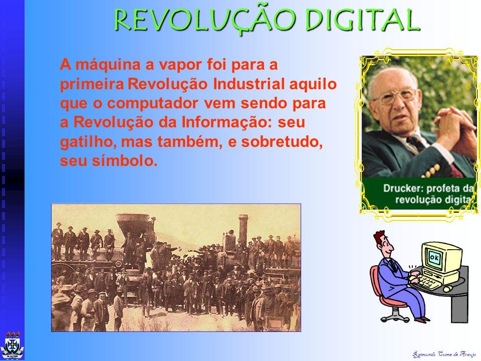 Raimundo Cosme de Araujo Marx criticou duramente o novo sistema econômico que se delineava (Maximiniano, 2000, p. 150): Distribuição de poder. No regi