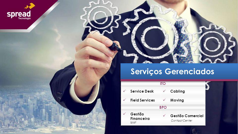 O serviço de Service Desk da Spread Tecnologia atende as ocorrências no ambiente de trabalho das empresas quanto ao uso dos recursos de TI.