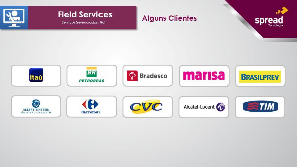 Serviços Gerenciados - ITO Field Services Alguns Clientes