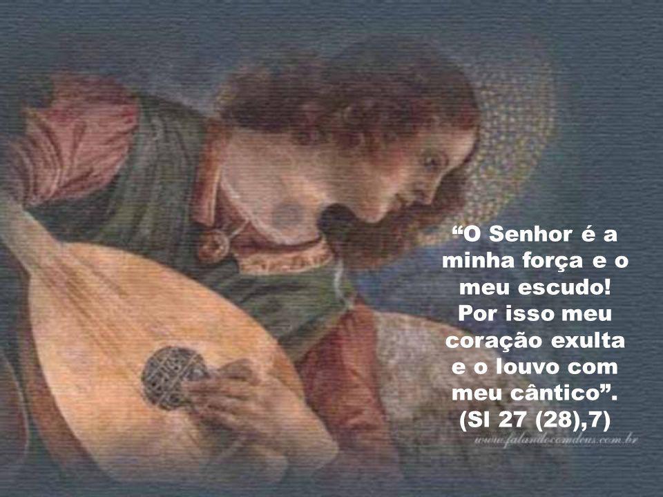 """""""Tende piedade de mim, Senhor, porque vivo atribulado, de tristeza definham meus olhos, minha alma e minhas entranhas"""". (Sl 30(31),10) """"Mas eu, Senhor"""