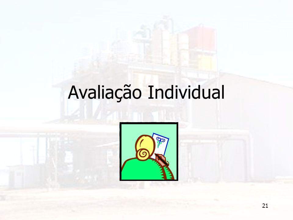 21 Avaliação Individual