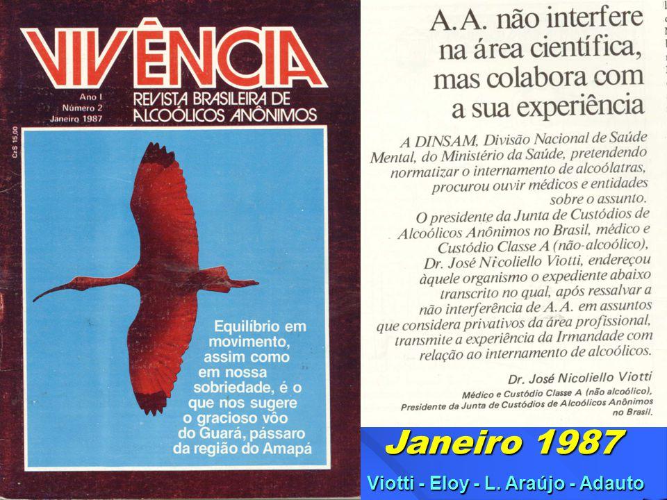 Janeiro 1987 Viotti - Eloy - L. Araújo - Adauto