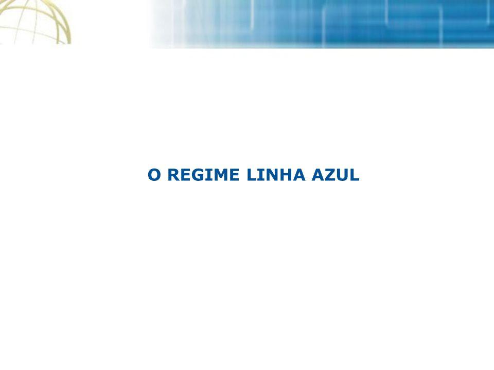 O REGIME LINHA AZUL