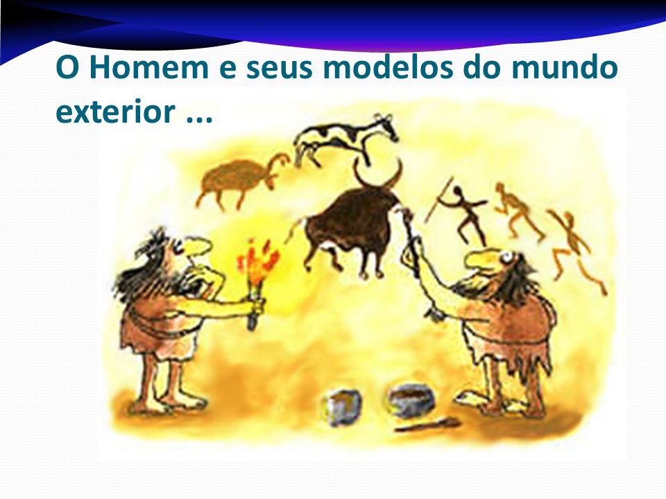 O Homem e seus modelos do mundo exterior...