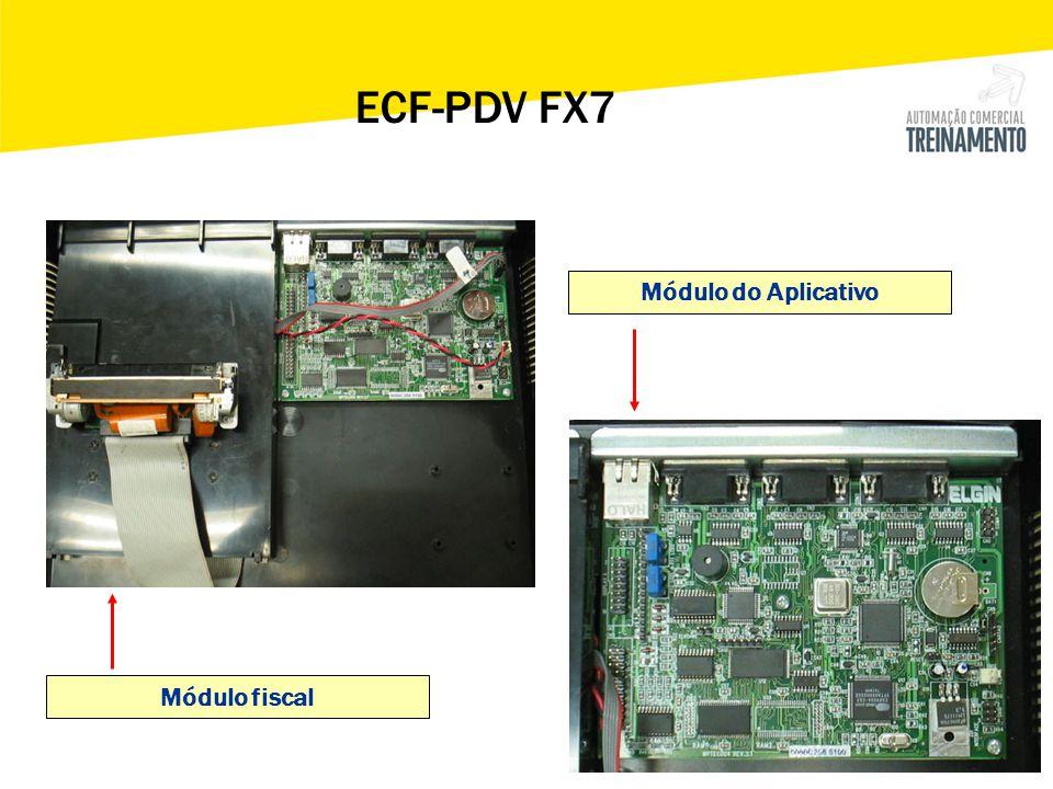 Módulo fiscal Módulo do Aplicativo ECF-PDV FX7