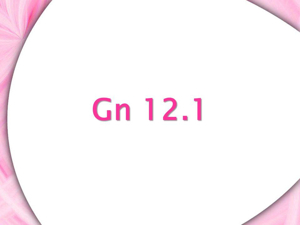 Gn 12.1