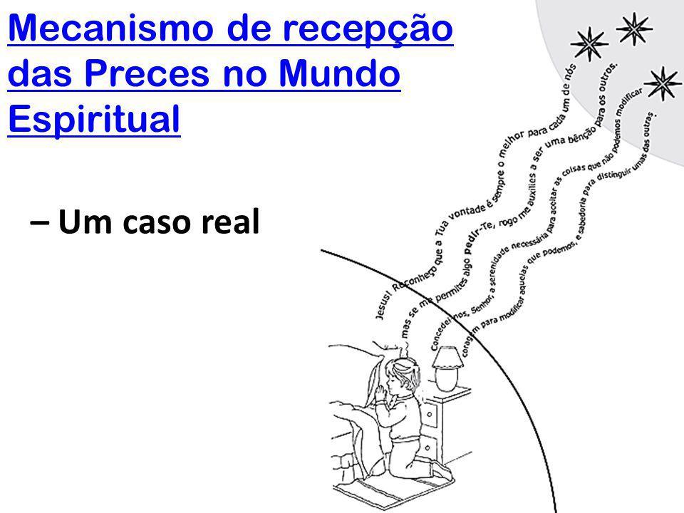 Mecanismo de recepção das Preces no Mundo Espiritual – Um caso real