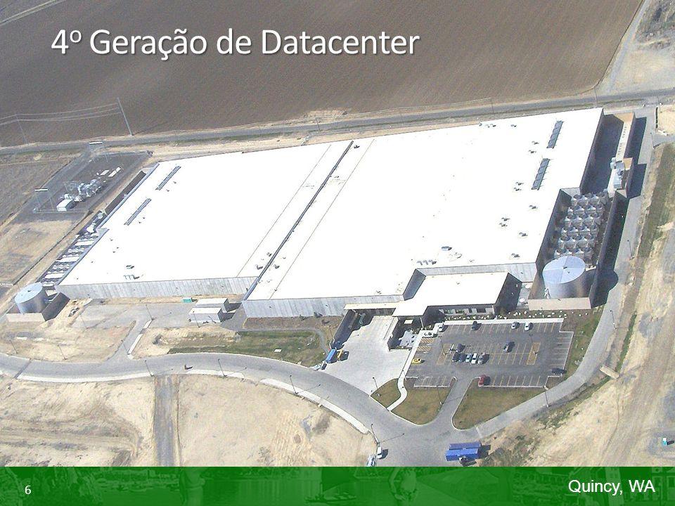 6 4 o Geração de Datacenter Quincy, WA