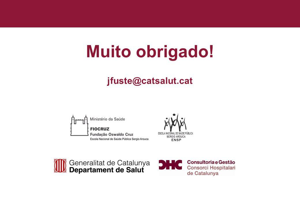 Título general da apresentação - CHC Consultoria e Gestão 36 Muito obrigado! jfuste@catsalut.cat