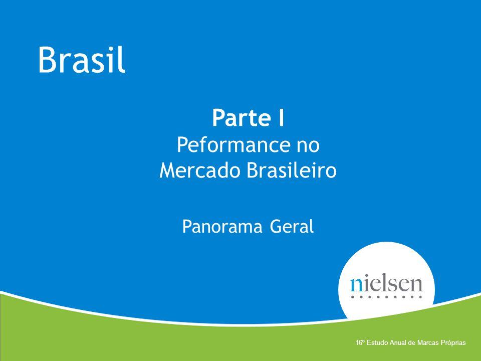 Brasil Parte I Peformance no Mercado Brasileiro Panorama Geral 16º Estudo Anual de Marcas Próprias