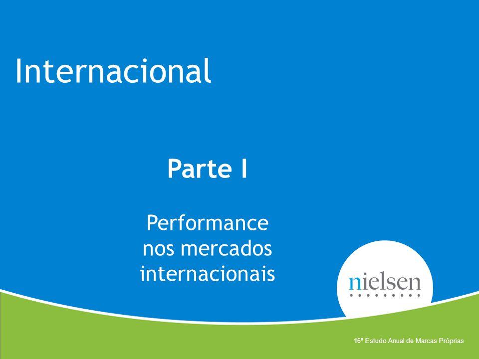 Internacional Parte I Performance nos mercados internacionais 16º Estudo Anual de Marcas Próprias