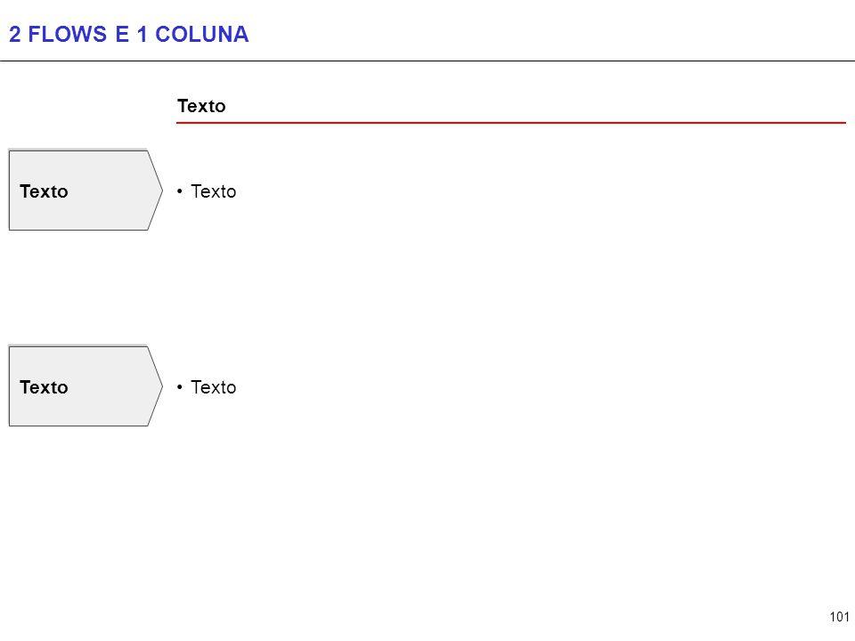 101 2 FLOWS E 1 COLUNA Texto