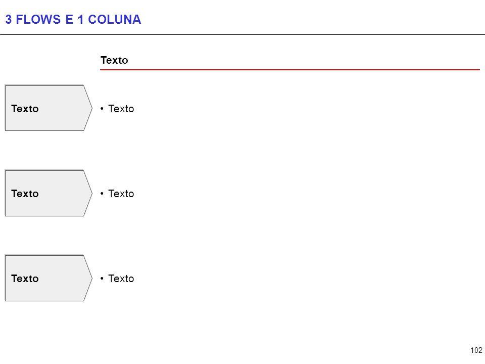 102 3 FLOWS E 1 COLUNA Texto
