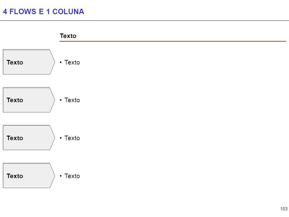 103 4 FLOWS E 1 COLUNA Texto