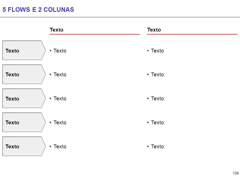 108 5 FLOWS E 2 COLUNAS Texto