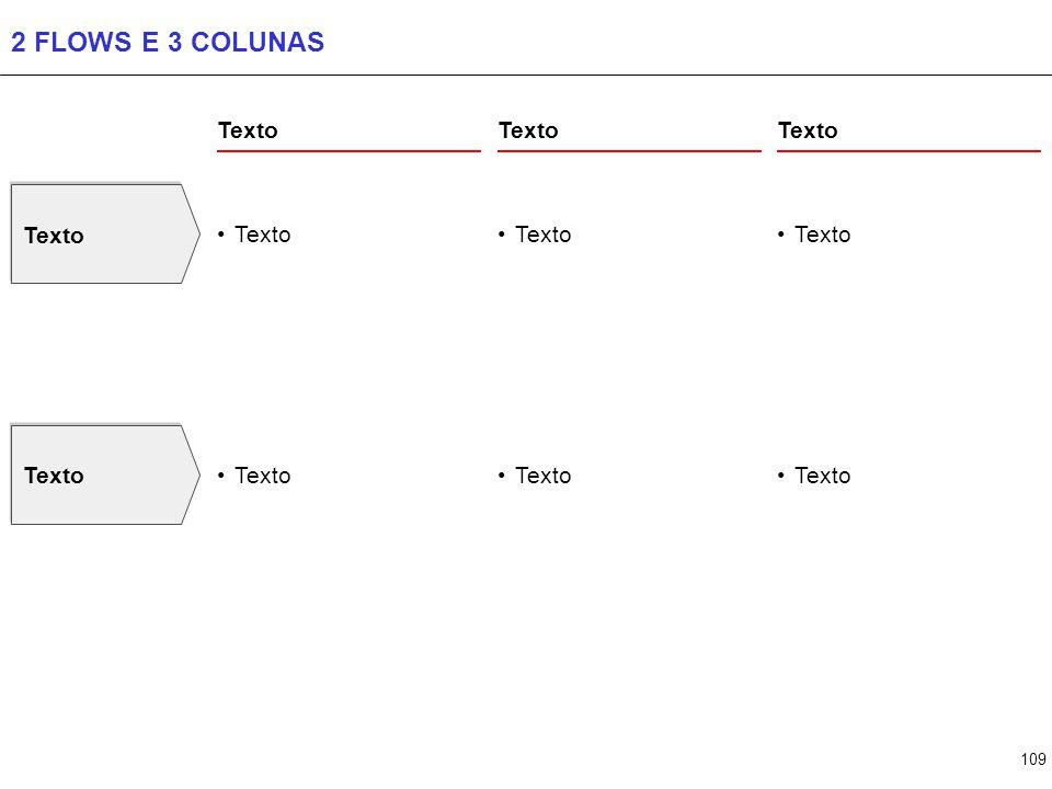 109 2 FLOWS E 3 COLUNAS Texto
