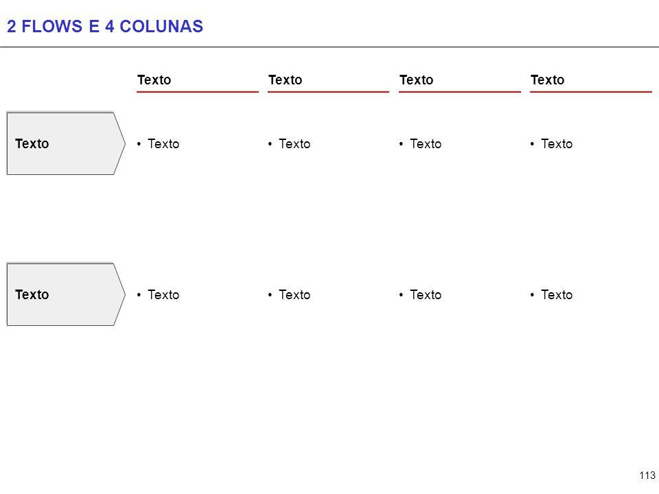 113 2 FLOWS E 4 COLUNAS Texto