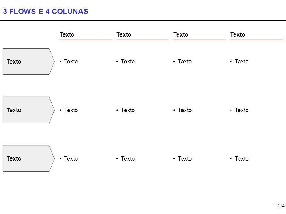 114 3 FLOWS E 4 COLUNAS Texto