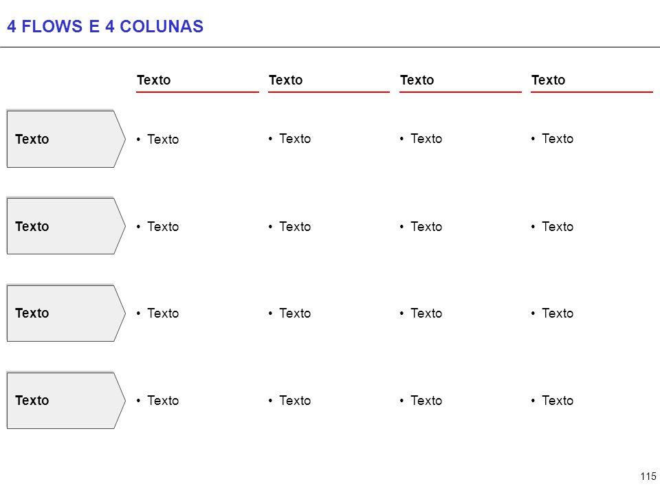 115 4 FLOWS E 4 COLUNAS Texto