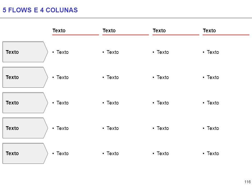116 5 FLOWS E 4 COLUNAS Texto