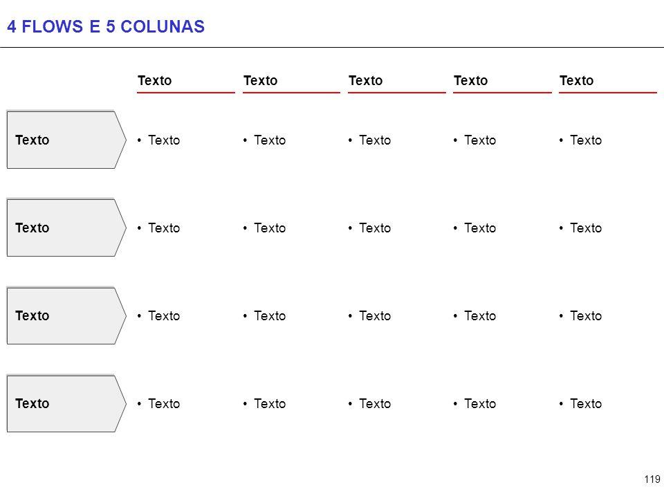 119 4 FLOWS E 5 COLUNAS Texto