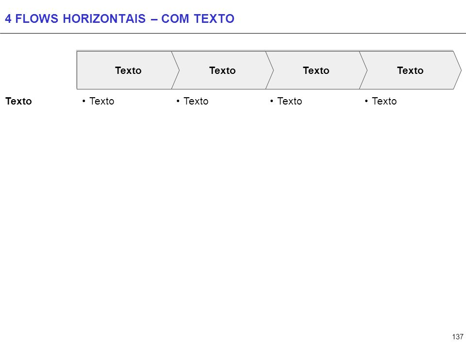 137 4 FLOWS HORIZONTAIS – COM TEXTO Texto