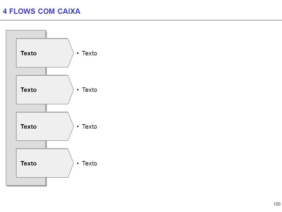 150 4 FLOWS COM CAIXA Texto