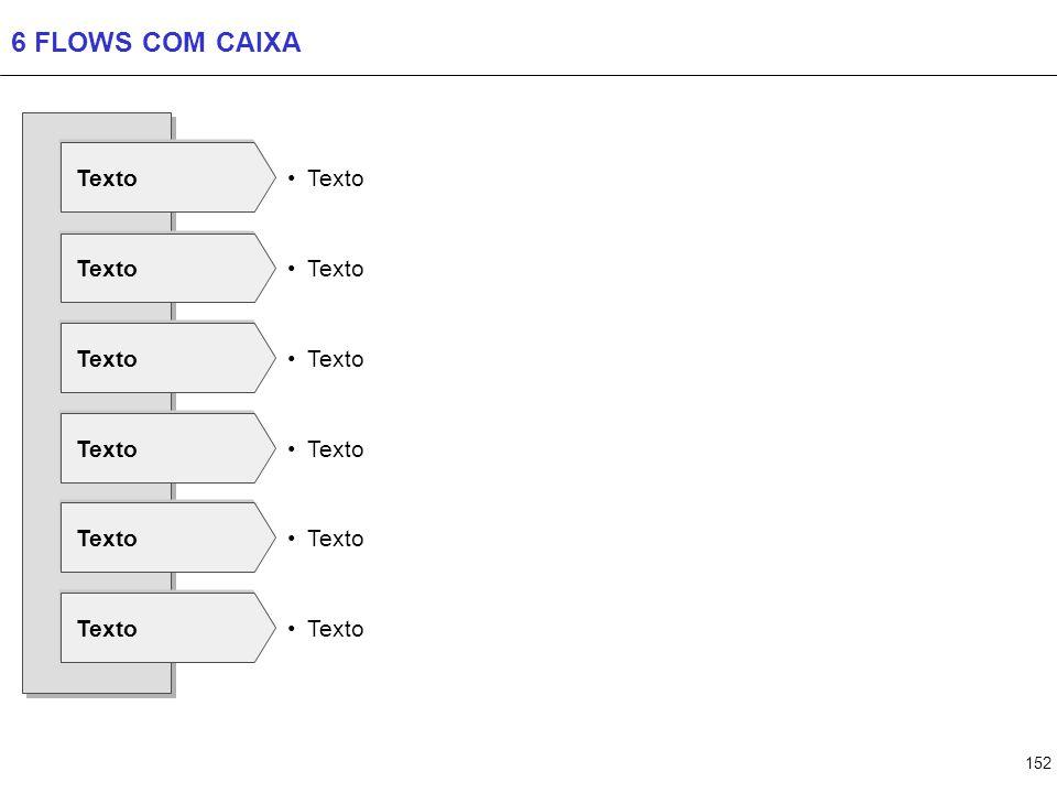 152 6 FLOWS COM CAIXA Texto