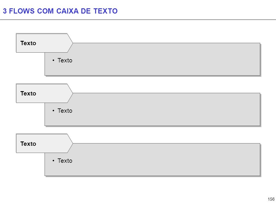 156 3 FLOWS COM CAIXA DE TEXTO Texto