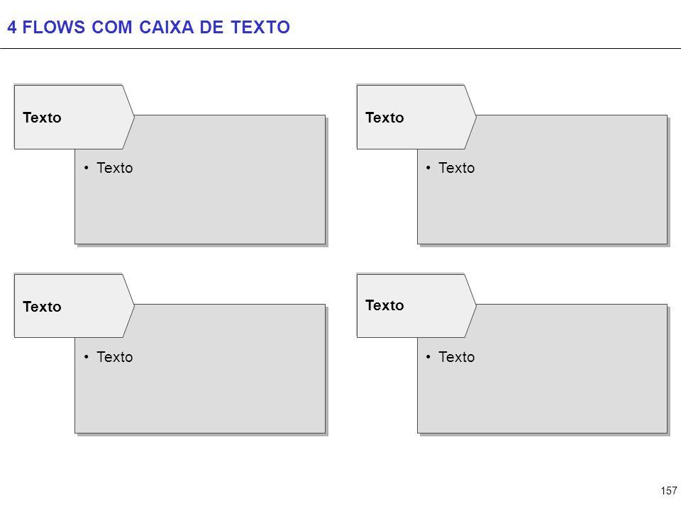 157 4 FLOWS COM CAIXA DE TEXTO Texto