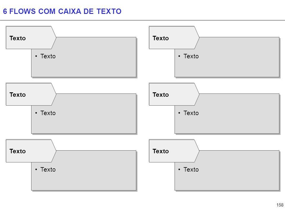 158 6 FLOWS COM CAIXA DE TEXTO Texto