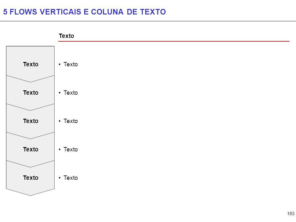 163 5 FLOWS VERTICAIS E COLUNA DE TEXTO Texto