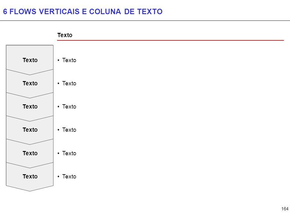 164 6 FLOWS VERTICAIS E COLUNA DE TEXTO Texto