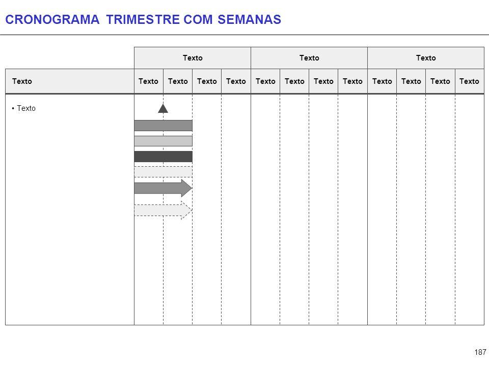 187 CRONOGRAMA TRIMESTRE COM SEMANAS Texto