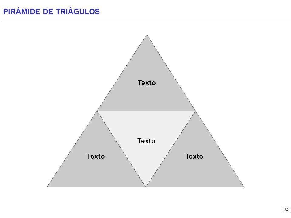 253 PIRÂMIDE DE TRIÂGULOS Texto