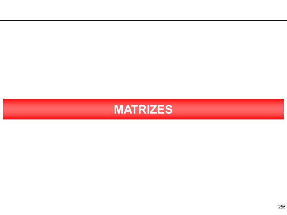 255 MATRIZES
