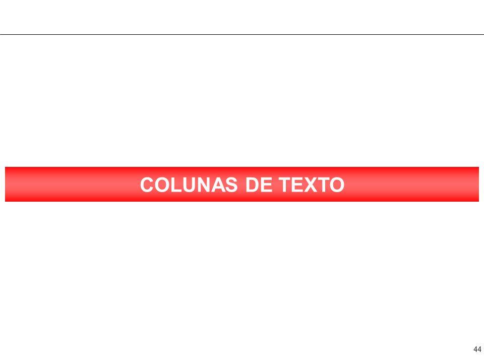 44 COLUNAS DE TEXTO
