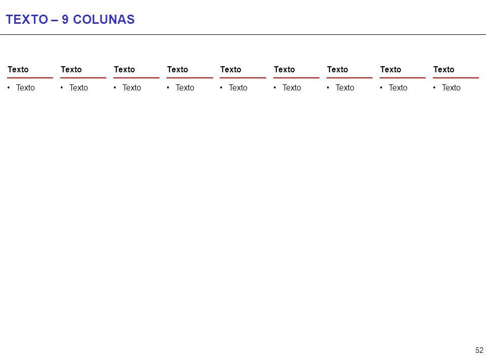 52 TEXTO – 9 COLUNAS Texto